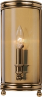 Hudson Valley 7801-AGB Larchmont Aged Brass Wall Sconce Lighting