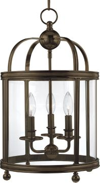 Hudson Valley 7812-DB Larchmont Distressed Bronze 12.5 Entryway Light Fixture