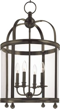 Hudson Valley 7816-DB Larchmont Distressed Bronze 16.5 Entryway Light Fixture