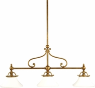 Hudson Valley 7822-AGB Orchard Park Aged Brass Island Lighting