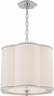 Hudson Valley 7915-PN Sweeny Polished Nickel 15  Drum Pendant Hanging Light