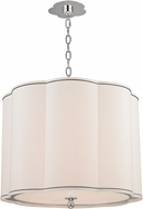 Hudson Valley 7920-PN Sweeny Polished Nickel 20  Drum Drop Lighting