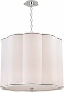 Hudson Valley 7925-PN Sweeny Polished Nickel 25  Drum Ceiling Light Pendant