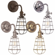 Hudson Valley 8000-WG Naples Wall Sconce