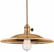 Hudson Valley 8001-AGB-MM2 Heirloom Aged Brass Pendant Light
