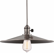 Hudson Valley 8001-HN-MM1 Heirloom Historic Nickel Pendant Lighting Fixture