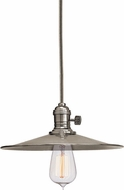 Hudson Valley 8001-HN-MS1 Heirloom Historic Nickel Hanging Pendant Lighting