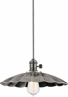 Hudson Valley 8001-HN-MS3 Heirloom Historic Nickel Hanging Pendant Light