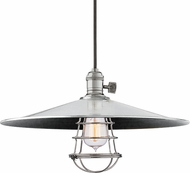 Hudson Valley 8001-PN-ML1-WG Heirloom Polished Nickel Ceiling Pendant Light