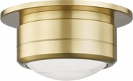 Hudson Valley 8007-AGB Greenport Contemporary Aged Brass LED 7 Overhead Lighting