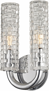 Hudson Valley 8010-PN Dartmouth Polished Nickel Wall Sconce Lighting