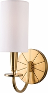 Hudson Valley 8021-AGB Mason Contemporary Aged Brass Light Sconce