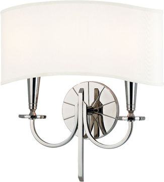 Hudson Valley 8022-PN Mason Contemporary Polished Nickel Wall Sconce Lighting