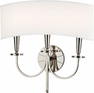 Hudson Valley 8023-PN Mason Contemporary Polished Nickel Lighting Wall Sconce