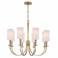 Hudson Valley 8028 Mason Transitional 26.5  Wide Chandelier Light