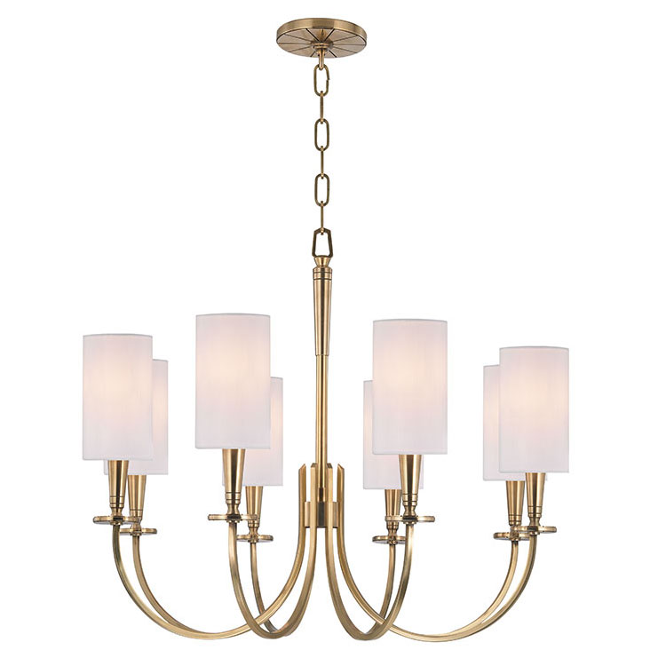 Hudson Valley 8028 Mason Transitional 26 5 Nbsp Wide Chandelier Light Loading Zoom