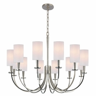 Hudson Valley 8032 Mason 34.5 x27.25  Transitional Chandelier Lighting