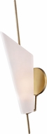 Hudson Valley 8061-AGB Cooper Modern Aged Brass LED Wall Light Sconce