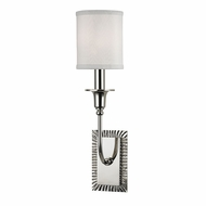 Hudson Valley 8081-PN Dover Polished Nickel Wall Light Fixture