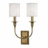 Hudson Valley 8082-AGB Dover Aged Brass Lighting Wall Sconce