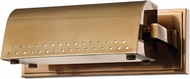 Hudson Valley 8108-AGB Garfield Aged Brass LED Picture Light