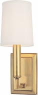 Hudson Valley 811-AGB Clinton Aged Brass Wall Lighting Sconce