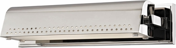 Hudson Valley 8114-PN Garfield Polished Nickel LED Picture Lighting Fixture