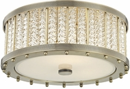Hudson Valley 8116-AGB Shelby Modern Aged Brass Flush Ceiling Light Fixture