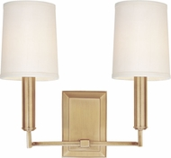 Hudson Valley 812-AGB Clinton Aged Brass Wall Lighting Fixture