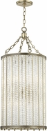 Hudson Valley 8138-AGB Shelby Modern Aged Brass Foyer Lighting