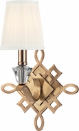 Hudson Valley 8181-AGB Fowler Aged Brass Wall Lamp