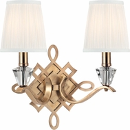Hudson Valley 8182-AGB Fowler Aged Brass Sconce Lighting