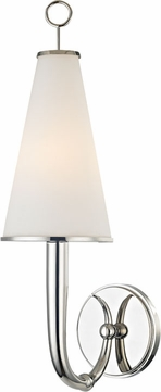 Hudson Valley 8200-PN Colden Polished Nickel Wall Lighting Sconce