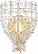 Hudson Valley 8201-AGB Floral Park Aged Brass Sconce Lighting