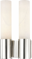 Hudson Valley 8214-PN Barkley Contemporary Polished Nickel LED Wall Lighting Sconce