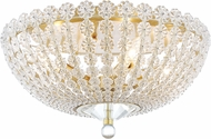 Hudson Valley 8217-AGB Floral Park Aged Brass Overhead Lighting