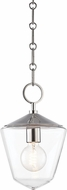 Hudson Valley 8308-PN Greene Contemporary Polished Nickel Mini Hanging Lamp