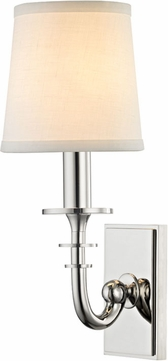 Hudson Valley 8400-PN Carroll Polished Nickel Wall Sconce Light