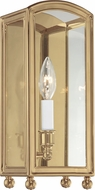 Hudson Valley 8401-AGB Millbrook Aged Brass Wall Sconce