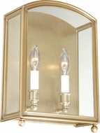 Hudson Valley 8402-AGB Millbrook Aged Brass Light Sconce