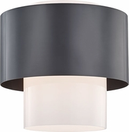 Hudson Valley 8609-OB Corinth Contemporary Old Bronze Flush Mount Ceiling Light Fixture
