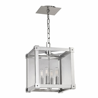 Hudson Valley 8612-PN Forsyth Contemporary Polished Nickel 12 Wide Foyer Lighting Fixture