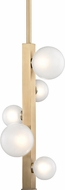 Hudson Valley 8705-AGB Mini Hinsdale Modern Aged Brass LED Mini Drop Ceiling Lighting