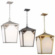 Hudson Valley 8715 Carlisle 15  Wide Transitional Hanging Foyer Pendant Light