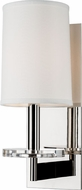 Hudson Valley 8801-PN Chelsea Polished Nickel Wall Sconce Lighting