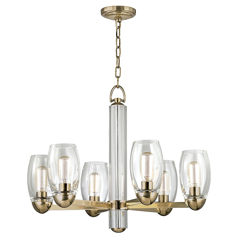 Hudson Valley 8846 Agb Pamelia Aged Brass Finish 20 5 Nbsp Tall Lighting Chandelier Loading Zoom
