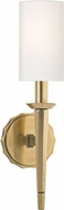 Hudson Valley 8881-AGB Tioga Aged Brass Wall Lighting Fixture