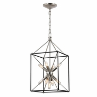 Hudson Valley 8912-PN Glendale Polished Nickel Finish 12.25  Wide Pendant Light