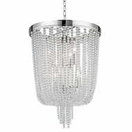 Hudson Valley 9018-PN Royalton Polished Nickel Ceiling Pendant Light