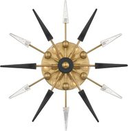 Hudson Valley 9024-AGB Sparta Contemporary Aged Brass Wall Sconce Lighting